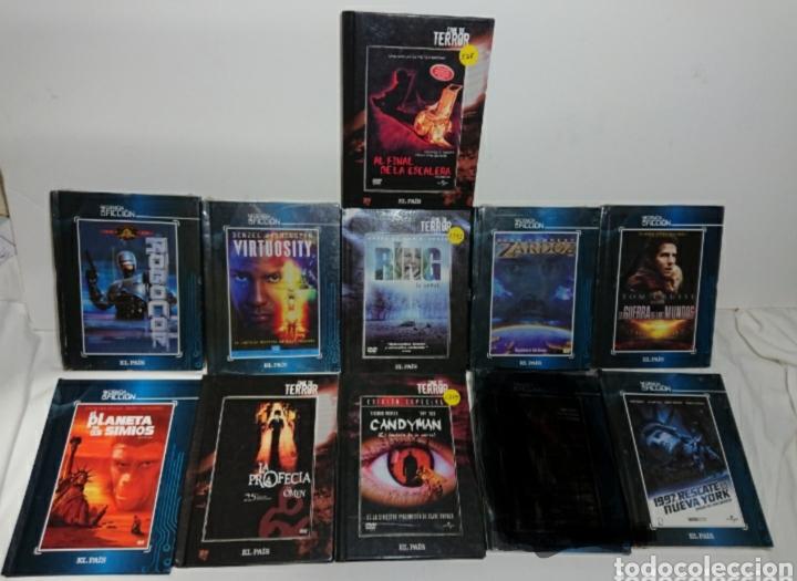 LOTE 10 LIBRO- DVDS TERROR Y CIENCIA FICCIÓN EL PAÍS (Cine - Películas - DVD)