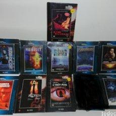 Cine: LOTE 10 LIBRO- DVDS TERROR Y CIENCIA FICCIÓN EL PAÍS. Lote 160514882