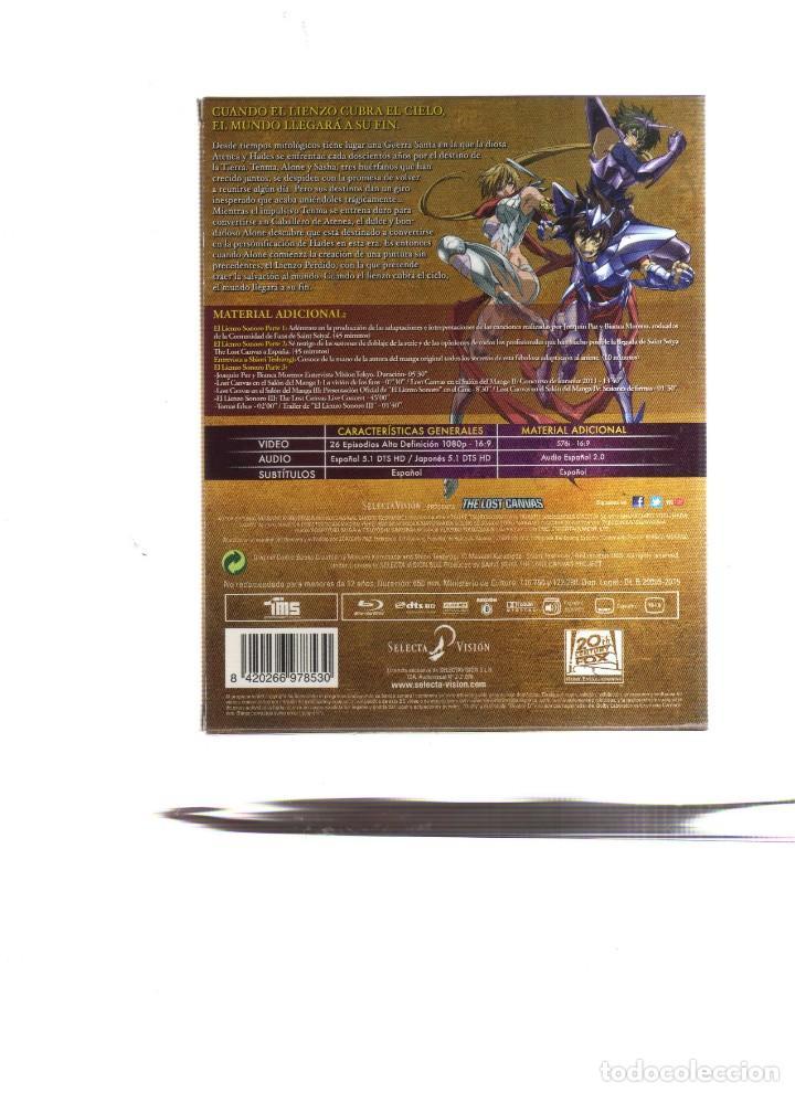 Cine: LOS CABALLEROS DEL ZODIACO SAINT SEIYA THE LOST CANVAS TEMPORADA 1 Y 2 26 EPISODIOS EN 6 DVD - Foto 2 - 160579594
