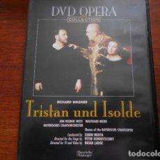 Cine: DVD OPERA-TRÍSTAN UND ISOLDE. Lote 160592054