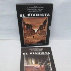 Cine: EL PIANISTA. ROMAN POLANSKI. 3 DVD. DE APLANETA 2003. VER FOTOGRAFIAS ADJUNTAS. Lote 160686290