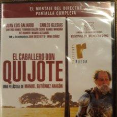 Cine: DVD EL CABALLERO DON QUIJOTE 2002. Lote 160728561