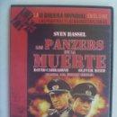 Cine: DVD CINE BELICO: LOS PANZER DE LA MUERTE , SVEN HASSEL. Lote 160765718