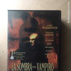 Cine: LA SOMBRA DEL VAMPIRO DVD. Lote 160802441