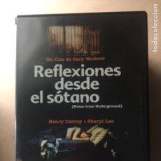 Cine: REFLEXIONES DESDE EL SÓTANO DVD. Lote 160802721