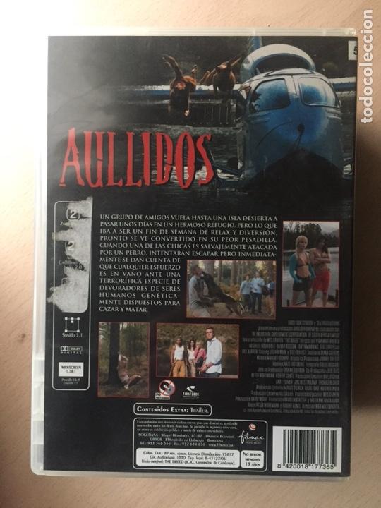 Cine: Aullidos DVD - Foto 2 - 160803253