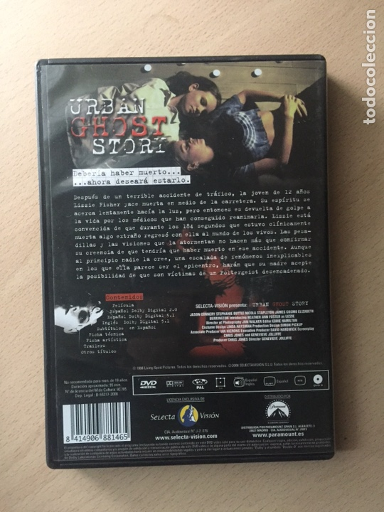 Cine: Urban Ghost Story DVD - Foto 2 - 160804353