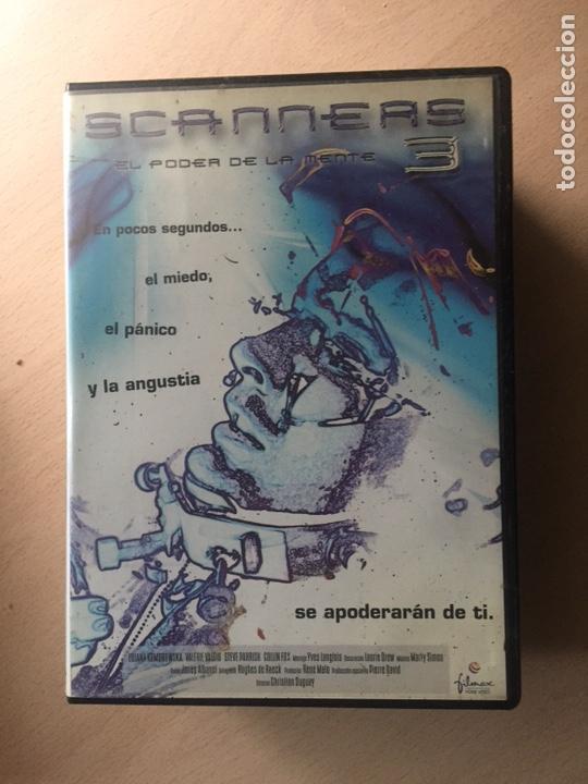 SCANNERS 3 DVD III EL PODER DE LA MENTE (Cine - Películas - DVD)