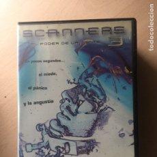 Cine: SCANNERS 3 DVD III EL PODER DE LA MENTE. Lote 160804720