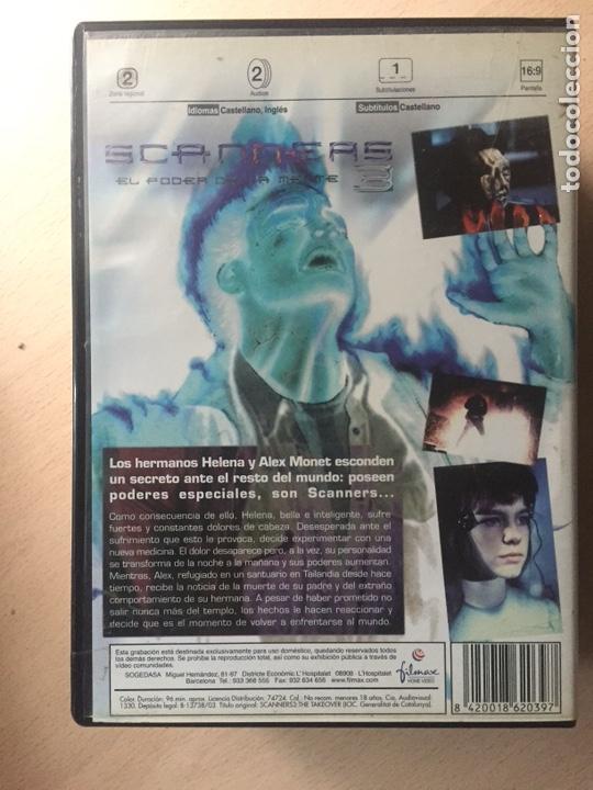 Cine: Scanners 3 DVD III El poder de la mente - Foto 2 - 160804720