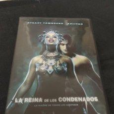 Cine: ( V94 ) LA REINA DE LOS CONDENADOS - STUART TOWNSEND ( DVD PROCEDENTE VIDEOCLUB ). Lote 160813429