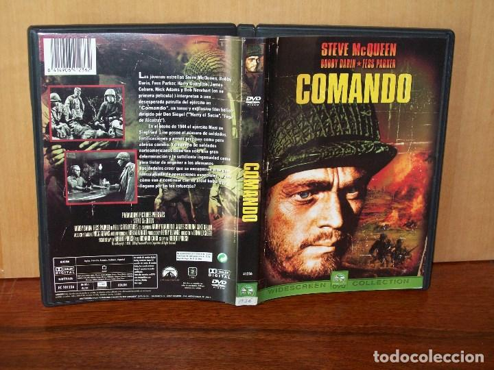 COMANDO - STEVE MCQUEEN - DIRIGIDA POR DONAL SIEGEL - DVD (Cine - Películas - DVD)