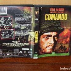 Cine: COMANDO - STEVE MCQUEEN - DIRIGIDA POR DONAL SIEGEL - DVD. Lote 161098782