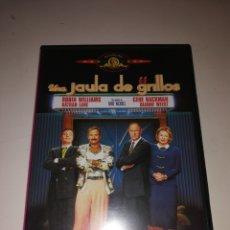 Cine: UNA JAULA DE GRILLOS DVD. Lote 161105110