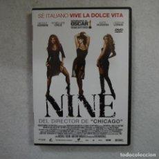 Cine: NINE. CON NICOLE KIDMAN, PENÉLOPE CRUZ, KATE HUDSON Y SOPHIA LOREN - DVD. Lote 161143594