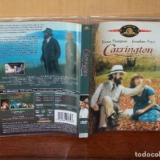 Cine: CARRINGTON - EMMA THOMPSON - JONATHAN PRYCE - DIRIGE CRISTOPHER HAMPTON - DVD . Lote 161146090