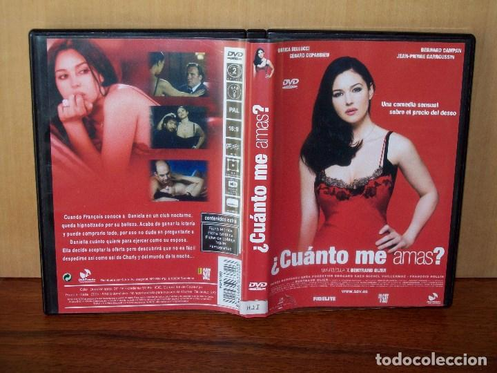 Cuanto Me Amas Monica Belluci Gerard Comprar Películas En Dvd En Todocoleccion 161146266