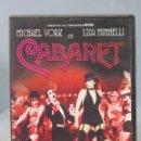 Cine: DVD. CABARET. Lote 161194410