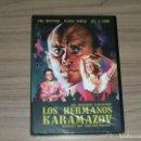 Cine: LOS HERMANOS KARAMAZOV DVD YUL BRYNNER LEE J. COBB NUEVA PRECINTADA. Lote 161250694