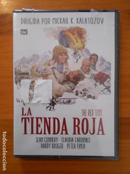 DVD LA TIENDA ROJA - SEAN CONNERY - CLAUDIA CARDINALE - NUEVA, PRECINTADA (O3) (Cine - Películas - DVD)