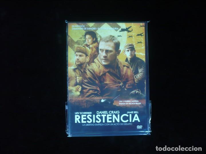 RESISTENCIA CON DANIEL CRAIG - DVD NUEVO PRECINTADO (Cine - Películas - DVD)
