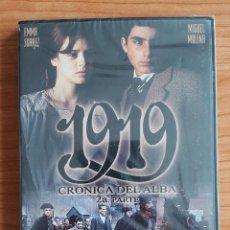 Cine: DVD: 1919 (CRÓNICA DEL ALBA) SUEVIA. CINE ESPAÑOL. ORIGINAL. COLECCIONISTA. Lote 161305398