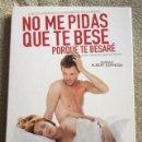Cine: NO ME PIDAS QUE TE BESE PORQUE TE BESARÉ DVD DE ALBERT ESPINOSA CON ELOY AZORÍN. Lote 161312366
