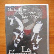 Cine: DVD LA FORMULA - MARLON BRANDO - NUEVA, PRECINTADA (9P). Lote 161347534