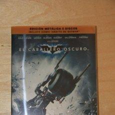 Cine: BATMAN, EL CABALLERO OSCURO (EDICIÓN COLECCIONISTA -VER DESCRIPCIÓN). Lote 161361678