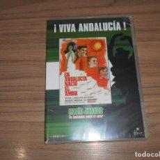 Cine: EN ANDALUCIA NACIO EL AMOR DVD ROCIO JURADO NUEVA PRECINTADA. Lote 186394115