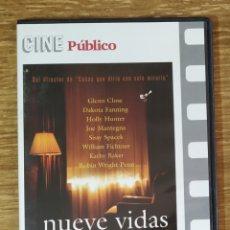 Cine: DVD - NUEVE VIDAS (2005) DRAMA GLENN CLOSE, DAKOTA FANNING. Lote 161462956