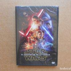 Cine: STAR WARS EL DESPERTAR DE LA FUERZA - DVD - PRECINTADO - NUEVO. Lote 161463210