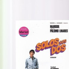 Cinema: MARISOL - SOLOS LOS DOS - 93´ - DVD NUEVO / SIN USO. Lote 161482286