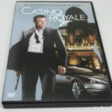 Cine: DVD - CASINO ROYALE - JAMES BOND - 007 - DANIEL CRAIG. Lote 161510118