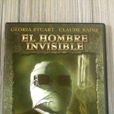 Cine: DVD EL HOMBRE INVISIBLE - H.G. WELLS 1933. Lote 161666369
