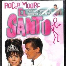 Cine: DVD EL SANTO - HAY QUE MATAR AL SANTO/ LA FALSA CONDENA - ROGER MOORE. Lote 195515247