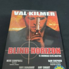 Cine: ( V49 ) BLIND HORIZON - VAL KILMER ( DVD PROCEDENTE VIDEOCLUB ). Lote 161749824