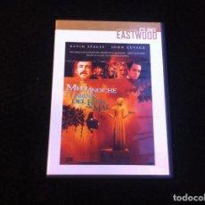Cine: PELÍCULA DVD. MEDIANOCHE EN EL JARDÍN DEL BIEN Y DEL MAL. CLINT EASTWOOD. Lote 161823530