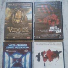 Cine: LOTE 4 DVD DE TERROR.. Lote 161889048