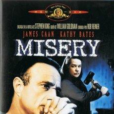 Cinema: MISERY JAMES CAAN & KATHY BATES. Lote 161890970