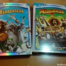 Cine - Lote 2 peliculas dvd MADAGASCAR 1 y 2 - 161935028