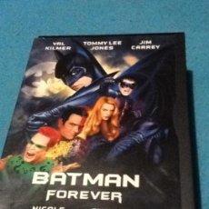 Cine: BATMAN FOREVER DVD. PELICULA. CASTELLANO VAL KILMER TOMMY LEE JONES JIM CARREY NICOLE KIDMAN. Lote 161962982