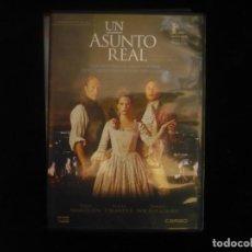 Cine: UN ASUNTO REAL - DVD CASI COMO NUEVO. Lote 179553622