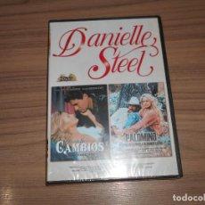 Cine: 2 DVD CAMBIOS + PALOMINO EDICION ESPECIAL 2 DVD 181 MIN. DANIELLE STEEL NUEVA PRECINTADA. Lote 162812853