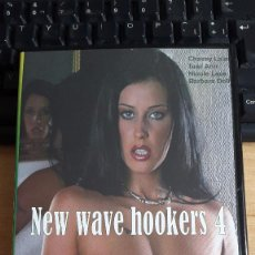 Cinéma: PELICULA DVD - CINE X - NEW WAVE HOOKERS 4 - CHASEY LAIN - NICOLE LACE. Lote 162240114