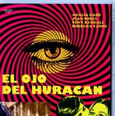 Cine: EL OJO DEL HURACAN (DVD PRECINTADO IMPORTACION) GIALLO DE CULTO - ANALÍA GADÉ - JEAN SOREL. Lote 194875731