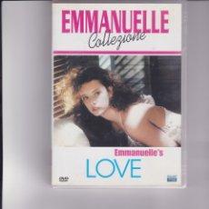 Cine: EMMANUELLE LOVE. AUDIO EN ITALIANO E INGLÉS. Lote 162373290
