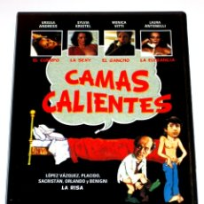 Cine: CAMAS CALIENTES - LUIGI ZAMPA URSULA ANDRESS LAURA ANTONELLI SYLVIA KRISTEL DVD DESCATALOGADA. Lote 162420489