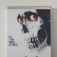 Cine: PELÍCULA DVD - EVIL DEAD II 2 DEAD BY DAWN DE SAM RAIMI EDICIÓN UK AUDIO CASTELLANO RARA. Lote 162422694