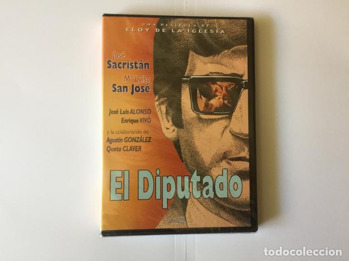 Cine: 2 DVD's: JOSÉ SACRISTÁN (El diputado-Largas vacaciones del 36) DIVISA. Originales. - Foto 4 - 162424226